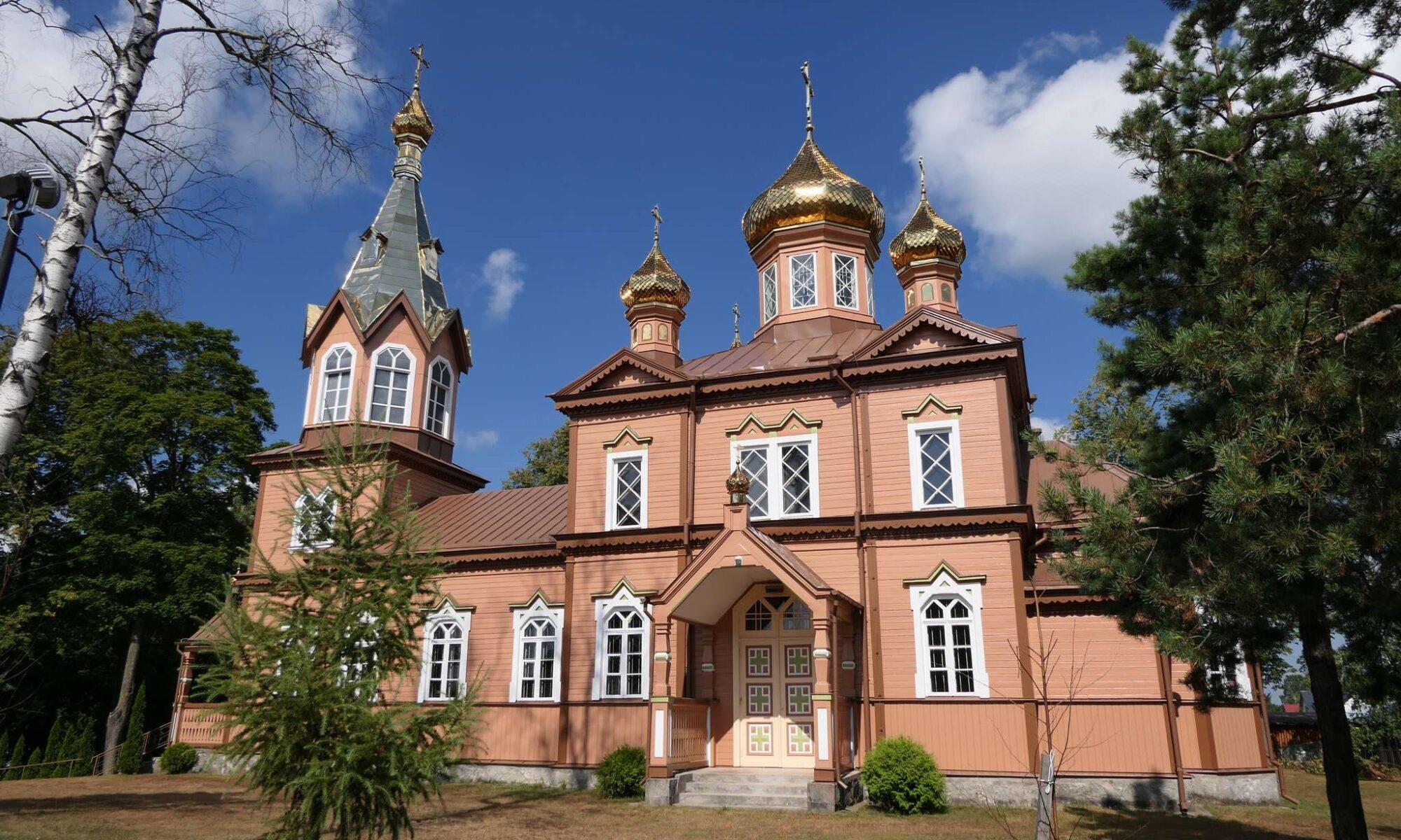 Cerkiew w Michałowie.