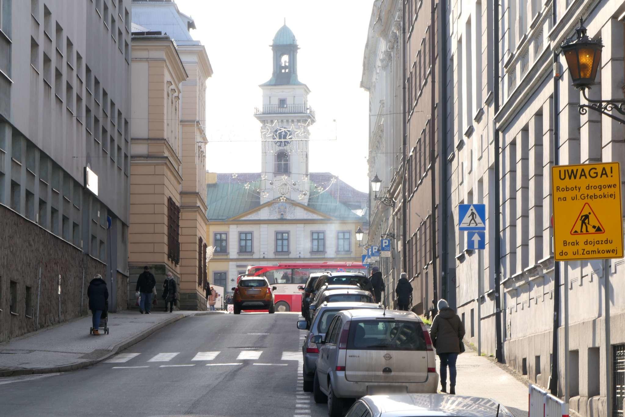 W przyszłym roku wzdłuż ul. Matejki ma zostać wytyczony kontrapas, umożliwiający rowerzystom opuszczenie rynku w kierunku północnym.